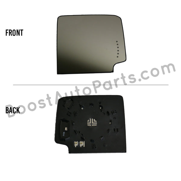 GM Tow Mirror Upper Glass (2015 Style)