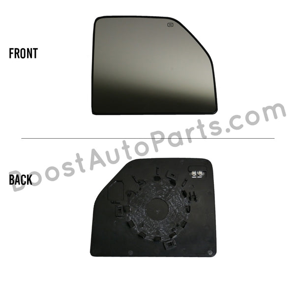 Ford Tow Mirror Upper Glass (2015 Style)