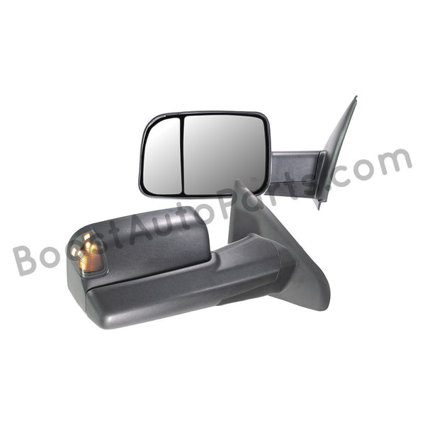 Dodge Ram 1500 Tow Mirrors 2002 2008 Boost Auto Parts