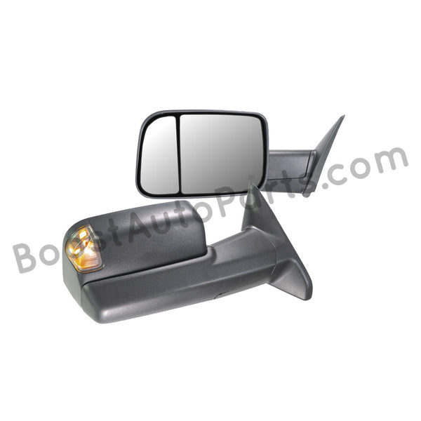 Dodge Ram 1500 Tow Mirrors 2009 2018 Boost Auto Parts