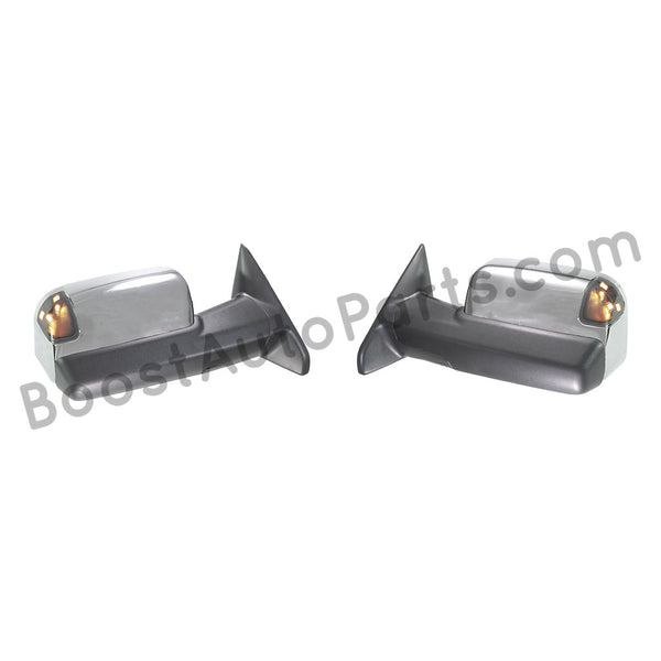 Dodge Ram 2500 3500 Tow Mirrors 2010 2018 Boost Auto Parts