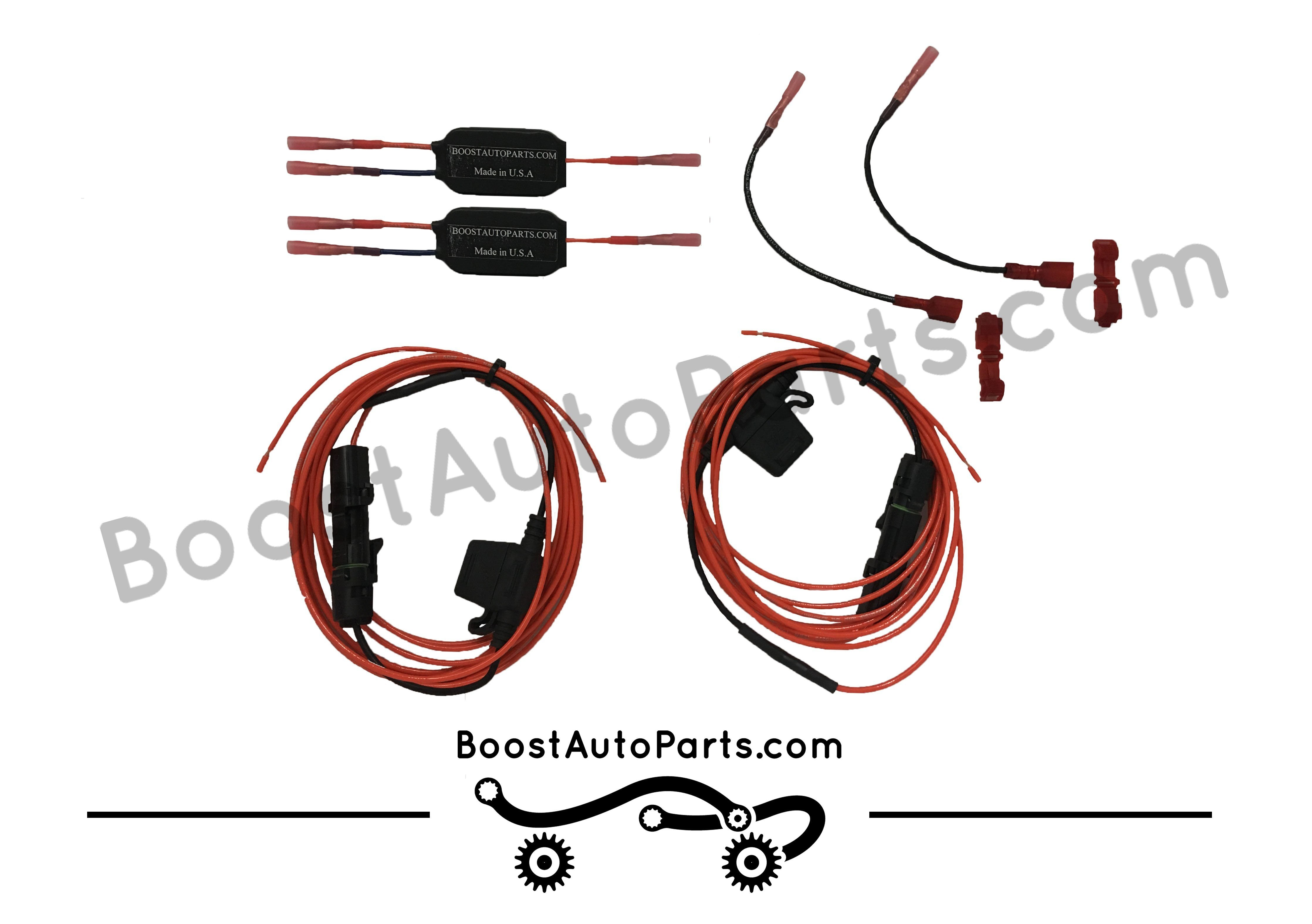 Dual Function (Signal & Running Light) Wiring Harness for Aftermarket on