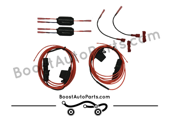 Dodge Ram 2015 >> Dual Function Tow Mirror Wiring Harness (Running Light & Signal) – Boost Auto Parts
