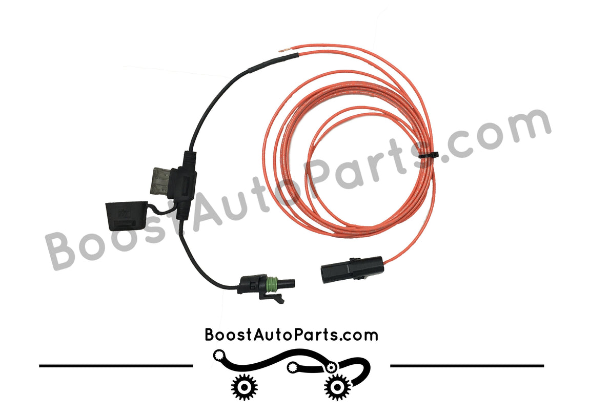 dual function (signal & running light) wiring harness for aftermarket mirrors silverado & sierra (1988 2019)  chevrolet wiring harness parts #7