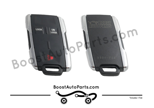 2015 Style Chrome GM Key Fob Retrofit (1999-2014 GM Trucks)