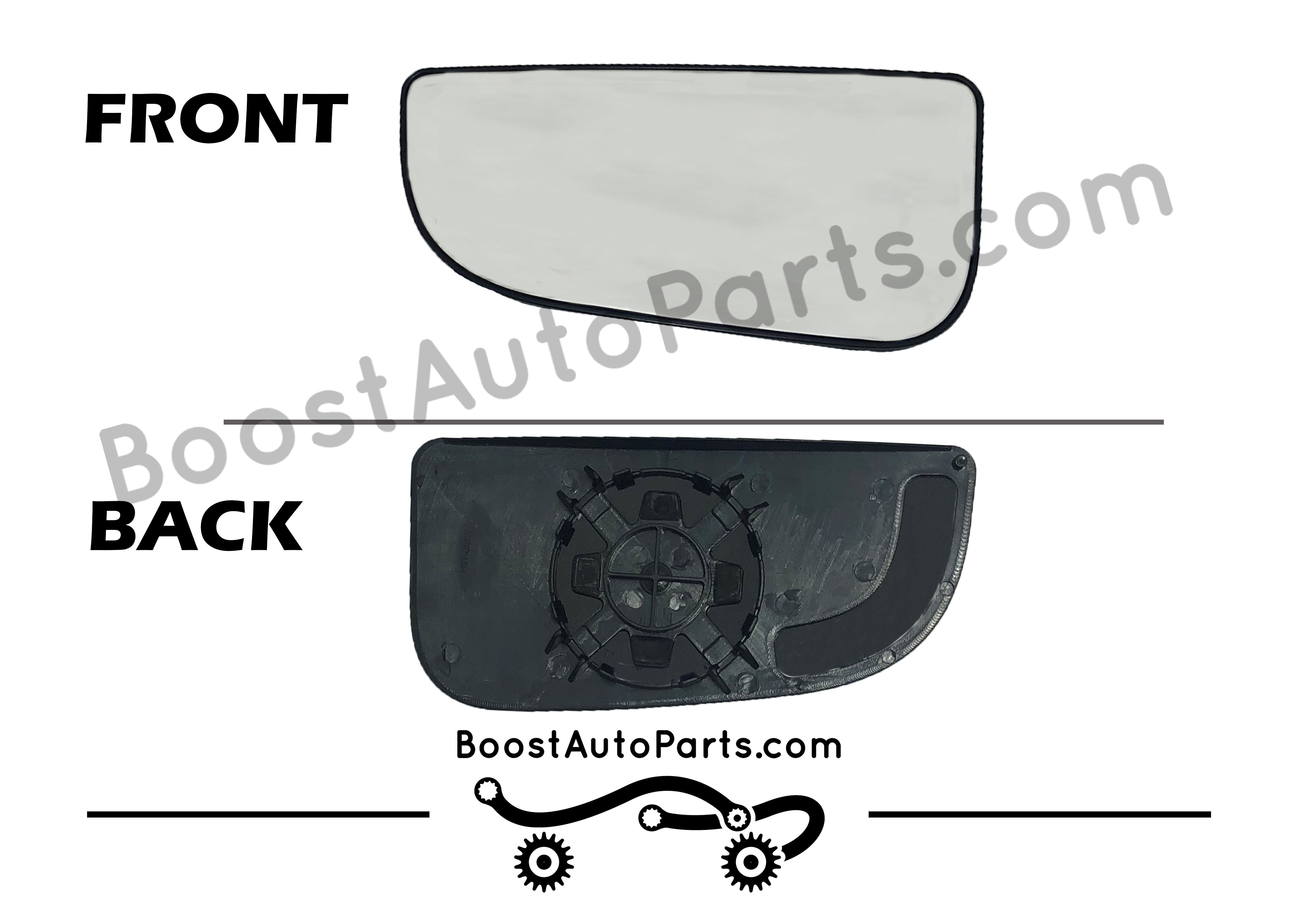 RAM PICKUP Both Driver /& Passenger Side View Replacement Glass Heated Mirror