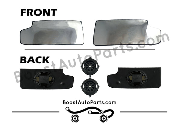 Tow Mirror Lower Glass Boost Auto Parts