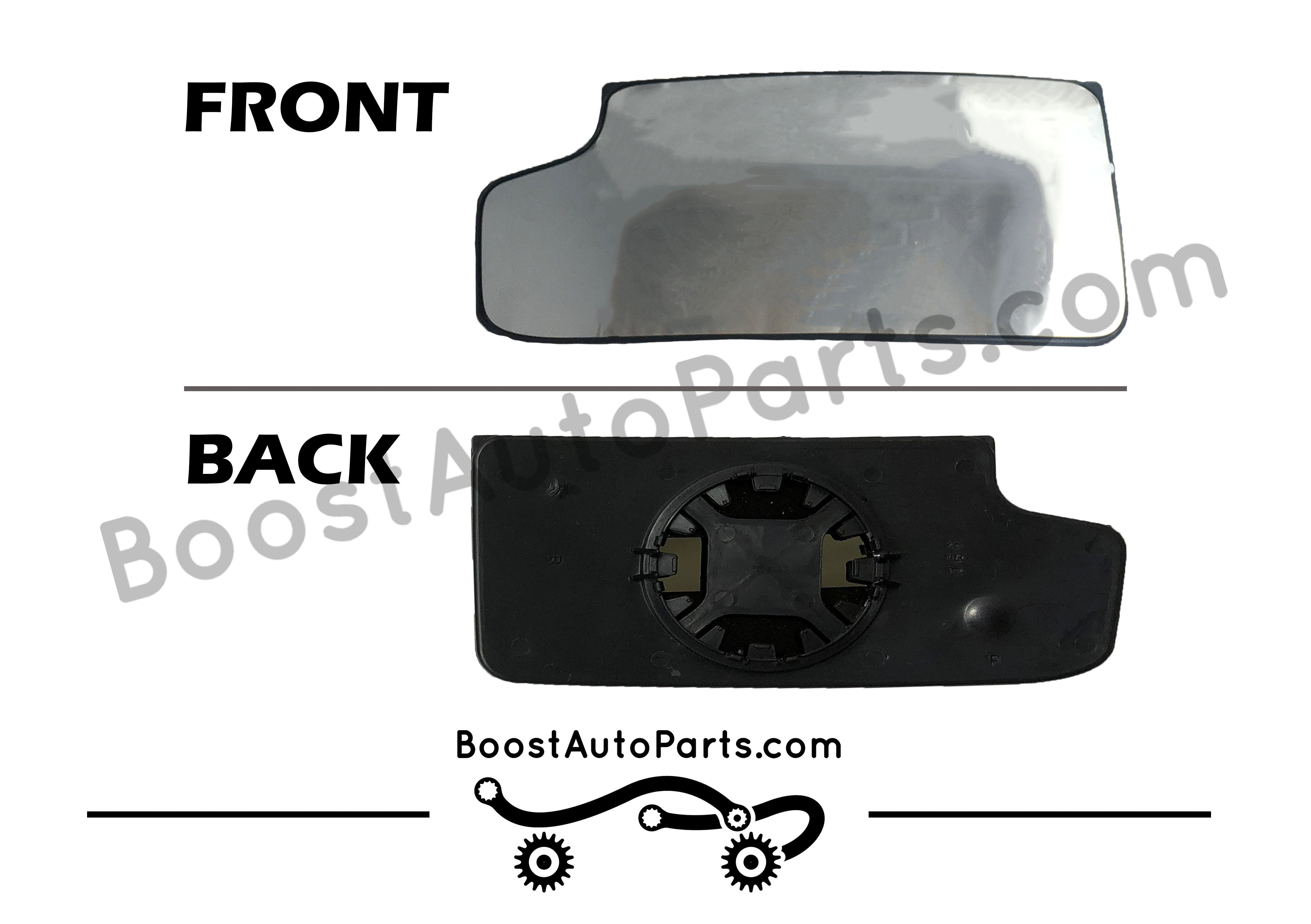 Tow Mirror Lower Glass