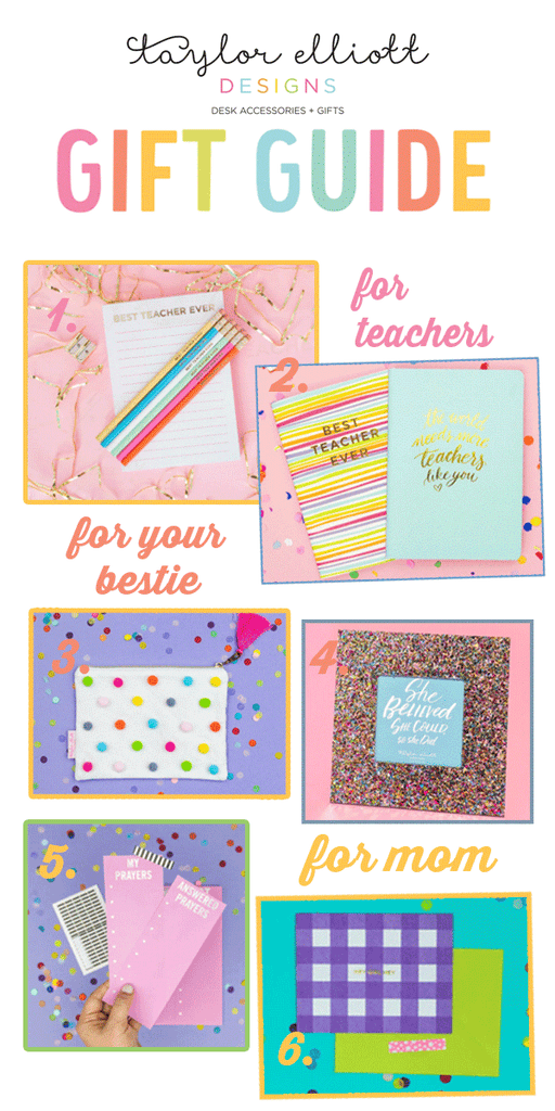 teacher bestie and mom gift guide
