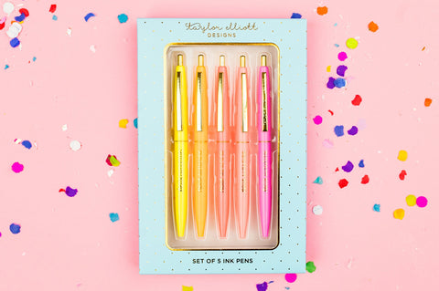 Hello Sunshine Pen Set in Gift Box