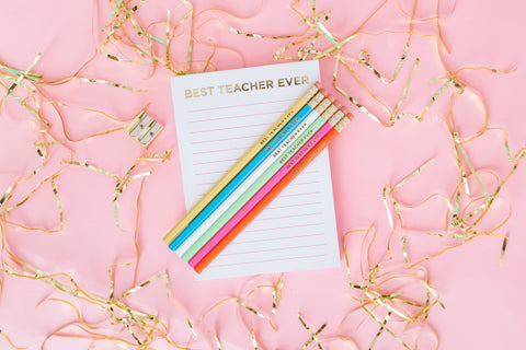 Best Teacher Ever List Pad