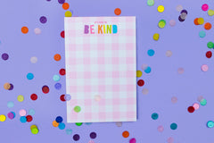 It's Cool to be Kind 4x6 Notepad