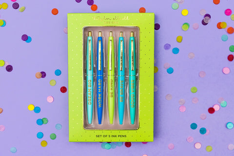 Positive Pen Set in Gift Box