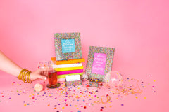4x6 Acrylic Confetti Photo Frame