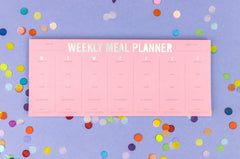 Intentional Eating Meal Planning Notepad