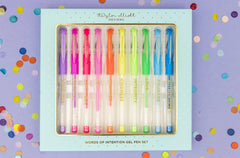 Words of Intention Gel Pen Set