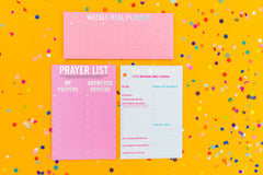 Prayer List Notepad