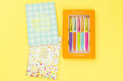 Prayer Journal + Pen Set Bundle