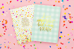 Confetti Prayer Notebook Set