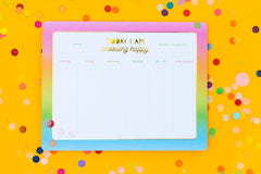 Choose Happy Weekly List Pad Planner