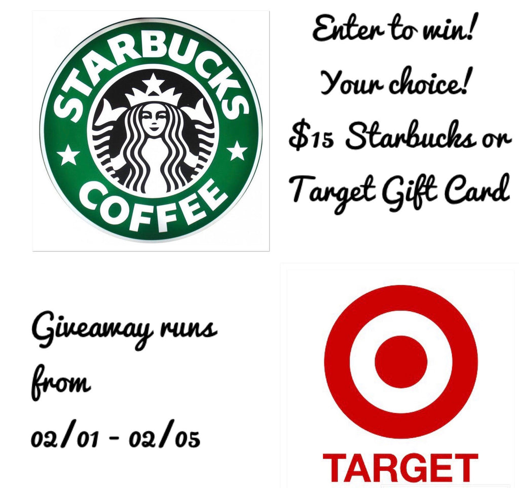 Giveaway! Enter to win a $15 Giftcard