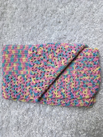 Granny Single Crochet Infant, Baby Blanket