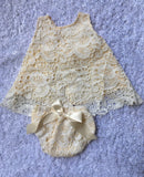 Ivory Lace Swing Top & Bloomers - Baby, Infant