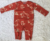 Rodeo Baby Boy Summer Longall Country Boy Romper