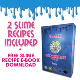 "Clay for Slime - 15 Pack Soft Modeling Clay for Kids, Air Dry Clay, Slime Stuff, Slime Supplies, 5 Bright Colors, Including Our Special ""Snow Clay!"""