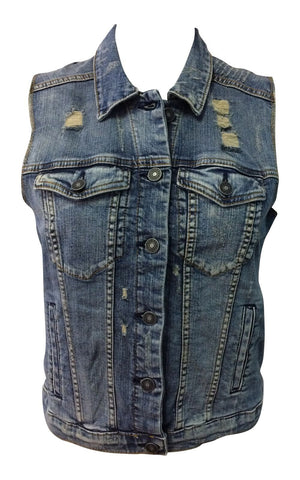 Silver Jeans Co. Denim Vintage Vest