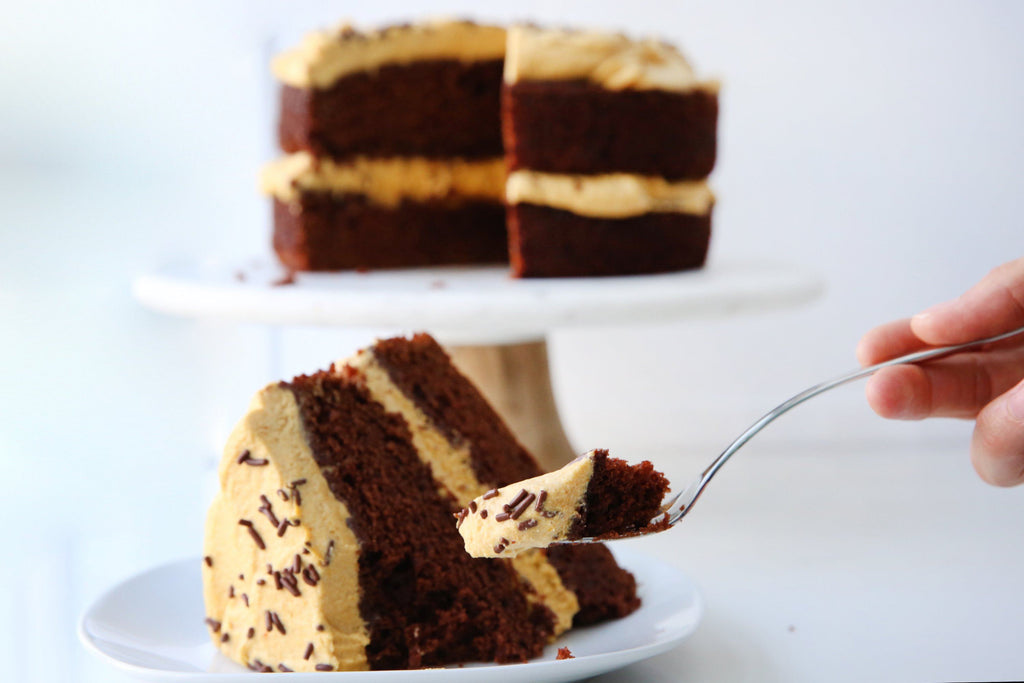 Brownie Pumpkin Cake