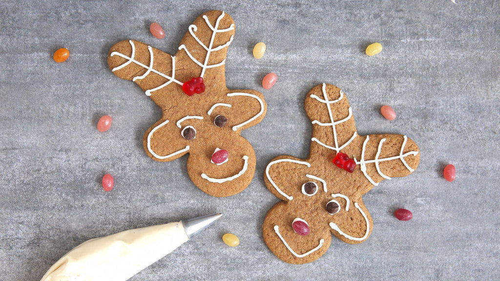 Reindeer Gingerbread Cookie