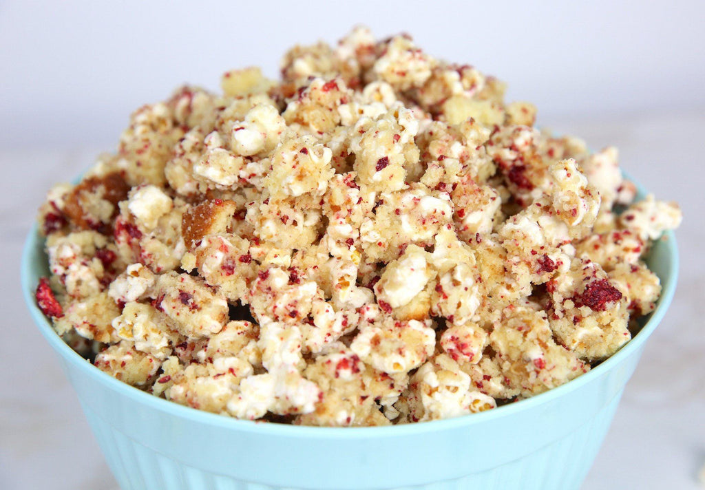 Foodstirs Party Munch: Strawberries & Cream Corn