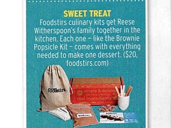 Foodstirs Featured in In Touch's What's Hot
