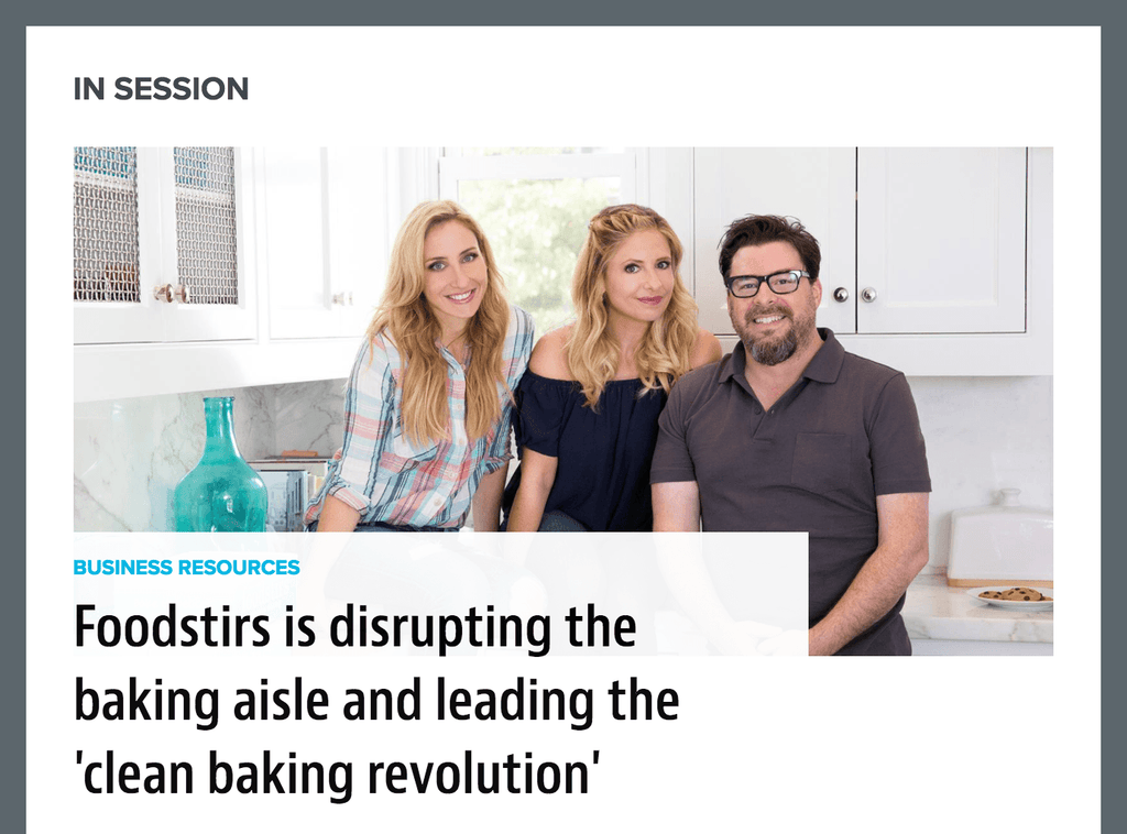 New Hope Network: Foodstirs is Disrupting the Baking Aisle and Leading the 'Clean Baking Revolution'