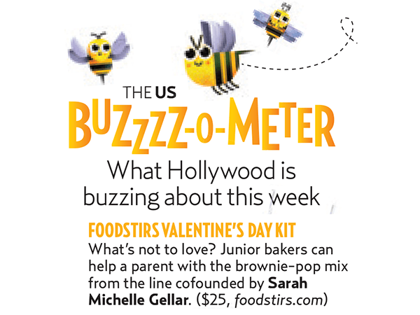 Foodstirs Featured in Us Weekly Buzzzz-o-meter