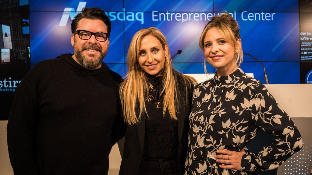 Tech Crunch: Sarah Michelle Gellar on Jumping from Screen to Startup with Foodstirs