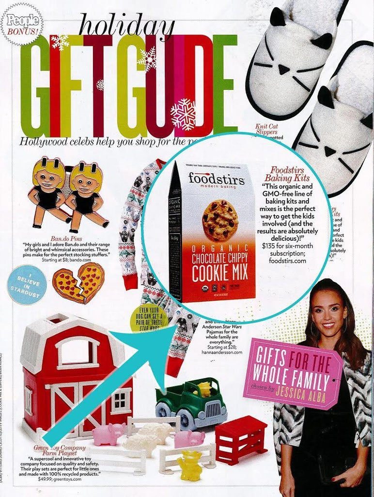 Featured in People Magazine Holiday Gift Guide 2016
