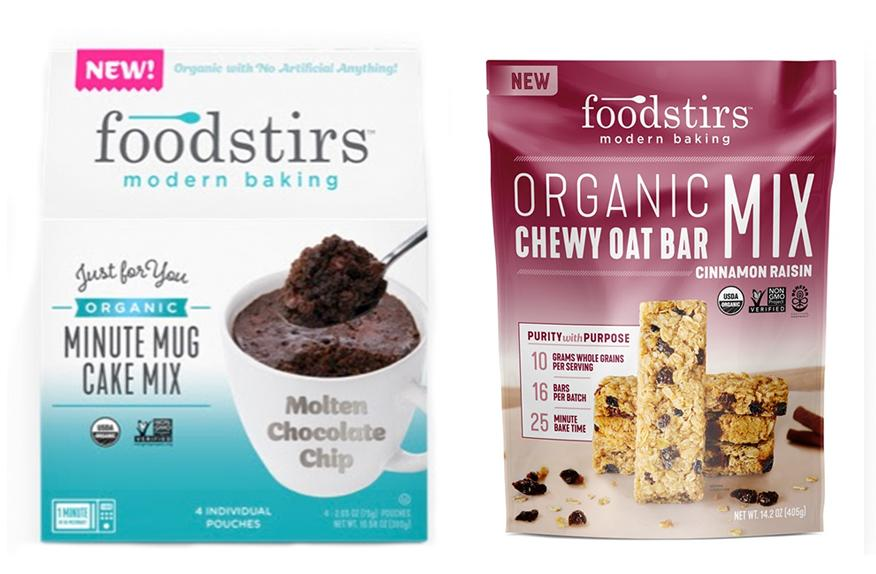 PR NEWS WIRE: Home Baking Gets an Upgrade Foodstirs™ Modern Baking to Debut Organic, One-Minute Mug Cakes and Organic Chewy Granola Oat Bar Baking Mixes at Expo West