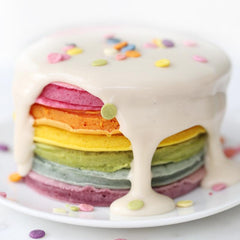 Rainbow Celebration Pancakes