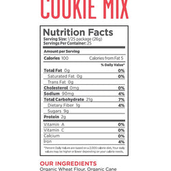 Foodstirs Organic Baking Mix, Variety Pack: 1 Gingerbread, 1 Sugar Cookie, and 1 Frosting