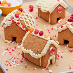 Ultimate Mini Gingerbread House Cookie Kit - LG Tasty Cookie Club Kit Foodstirs