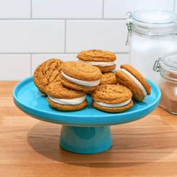 Pumpkin Spice & Everything Nice Cookie Sandwich Kit  - LG Tasty Cookie Club