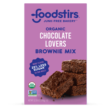 Foodstirs Organic Chocolate Lovers Brownie Mix