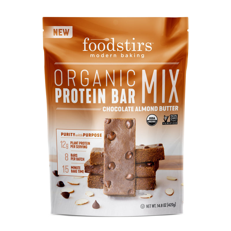 Foodstirs Organic Chocolate Almond Butter Protein Bar Mix
