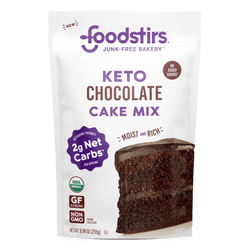 Foodstirs Organic Keto Chocolate Cake Mix Mixes Foodstirs
