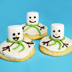 Melted Snowman Cookie Kit