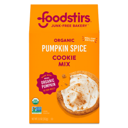 Foodstirs Organic Pumpkin Spice Cookie Mix Foodstirs