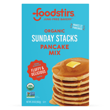 Foodstirs Organic Sunday Stacks Pancake Mix