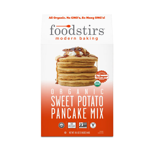 Foodstirs® Organic Sweet Potato Pancake Mix